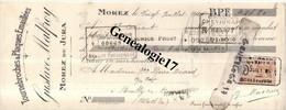 39 0220 MOREZ JURA 1925 Tournebroches Et  Plaques Emaillees GUSTAVE MALFROY Tampon CHEVIGNARD De DIJON POUILLY EN - Non Classés