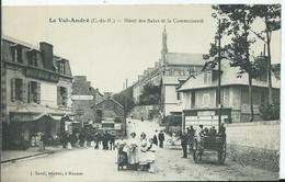 VAL ANDRE -  Hôtel Des Bains Et La Communauté (attelage) - Pléneuf-Val-André