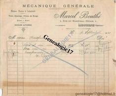 33 2003 LIBOURNE GIRONDE 1930 Mecanique Generale MARCEL BOUTHE ( Bouthé ) Rue Marechal Petain - France