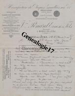39 0687 MOREZ DU JURA 1905 Emaillerie Manufacture De Plaques Emmaillees Sur Fer VEUVE PONARD ERNEST Rue Du College - Non Classés