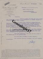 40 0206 MONT DE MARSAN LANDES 1949 Ets GASTON LACAZE ET FILS Usines A MORCENX - SAINT PERDON A PLOUHINEC - 1900 – 1949