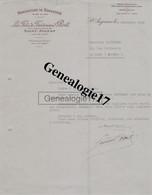 41 0407 SAINT AIGNAN LOIR ET CHER 1938 Manufacture Bonneterie LES FILS DE FERDINAND POIT  A DARDENNE - 1900 – 1949