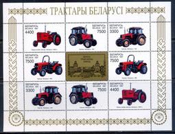 Belarus 1997 Bielorrusia / Tractors MNH Tractores / Ev28  37-2 - Andere (Aarde)