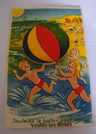 CPA - Veules Les Roses (76) - Carte à Système - 10 Vues  - Soulevez Le Ballon Pour Voir - 1940 - SUP (DT 32) - Veules Les Roses