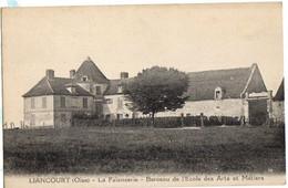 LIANCOURT - Carte Sur La FAIENCERIE Berceau Ecole Arts & Métiers - Liancourt