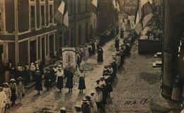 Ettelbruck  Procession De La Fete-Dieu Dans Les Rues D'Ettelbruck 10.6.1917 Chr.Krantz,Photographe,Ettelbruck - Ettelbrück