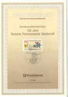 D+ Berlin 1990 Mi 875 Pharmazie ETB GH - Covers & Documents