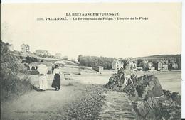 VAL ANDRE - La Promenade De Piegu - Un Coin De La Plage - Pléneuf-Val-André