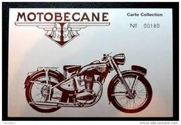 175cc Motobécane Z2C -  CPM Neuve & Numérotée De La Collection Du Club Motobécane - Motorbikes