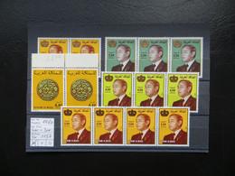 """1980  """" 4er + 3er """" Ohne Mängel, Sauber Postfrisch   LOT 1157 - Marokko (1956-...)"""