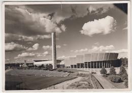 Helsinki Stadium Postcard Posted 1952 XV Olympics Special Pmk B201001 - Finland