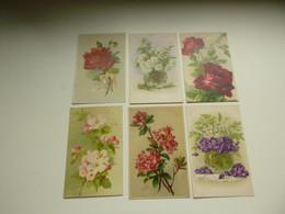 Beau Lot De 60 Cartes Postales De Fantaisie  Fleurs Fleur   Mooi Lot Van 60 Postkaarten  Bloemen Bloem - 5 - 99 Postkaarten