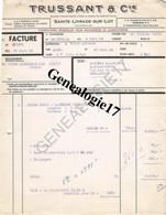 47 0135 SAINTE LIVRADE SUR LOT 1954 Fournitures Boucherie Charcuterie TRUSSANT Cie  - MACHINE HACHER ABATTOIR - France
