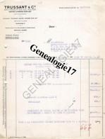 47 0136 SAINTE LIVRADE SUR LOT 1950 Fournitures Boucherie Charcuterie TRUSSANT Cie  - MACHINE HACHER ABATTOIR - France