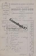 52 0472 JOINVILLE HAUTE MARNE 1914 Caisses A La Vanille NOROY - DUTOUR Succ BARROIS Rue Fontaine A MACLOU - 1900 – 1949