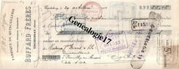 61 0206A TINCHEBRAY Fabrique Quincaillerie BUFFARD FRERES Feronnerie Taillanderie - LEHERPEUR SADOT CORNETTE De FLERS - Letras De Cambio