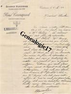 61 0354 COURTOMER ORNE 1922 Epicerie Parisienne RENE COURAPIED Produits FELIX POTIN Succ E. ROUSSELIN - 1900 – 1949