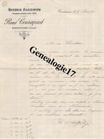 61 0355 COURTOMER ORNE 1921 Epicerie Parisienne RENE COURAPIED Produits FELIX POTIN ( Succ E. ROUSSELIN  ) - 1900 – 1949