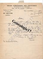 62 0583 CALAIS 1949 Courrier Recommandé  De L UNION DES LOCATAIRES DE FRANCE ET COLONIES Rue R. Boulanger à Me HARMEGNI - 1859-1955 Gebraucht