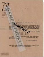 75 00541 PARIS POUR ELLE 58 Pierre Charron Sté Edition THEOPHRASTE RENAUDOT Abonnement - Giornali