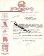 75 00426 PARIS Ets BREGIER DELIGNE 19/23 Rue Bichat Rechauds Poele Mazout Cuisiniere 1956 à VICHY SPORTS 2 Rue Dacher - Landwirtschaft
