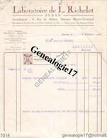 64 0250 BAYONNE PYRENEES 1923 Laboratoire L. RICHELET ( Abimee ) De SEDAN Rue De Belfort - 1900 – 1949