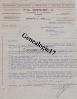 64 0257 HENDAYE Et IRUN ESPAGNE  PYRENEES 1930 Transport Maritime VEUVE EUGENE BETSELLERE Succ E DUSSAUBAT - SAN EMETERI - 1900 – 1949
