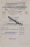 64 0268 MAULEON SUR SOULE PYRENEES 1939 LES SANDALES GOUIK ( Gouik ) Ets BIDEGAIN Rue Victor Hugo à GOUTALAND - Vestiario & Tessile