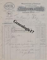64 0384 MAULEON SOULE PYRENEES 1920 Manufacture De Sandales APPALASPE - BIDEGAIN Succ J. BARDOS Marque GOUIK A MILOU - 1900 – 1949