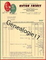 64 0445 BAYONNE BASSES PYRENEES 1968 La Sandale Des Basques BAYONA CHIBERTA Des Ets VICTOR FRERES Bd Jean D Amou - Kleding & Textiel