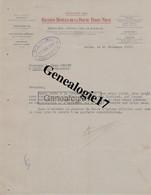 71 1055 AUTUN SAONE LOIRE 1929 GRANDS HOTELS DE LA ROUTE PARIS NICE D SAULIEU Ets BONNEAU De VALENCE GRENBLE NICE CANNES - Factures