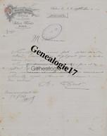 71 1052 AUTUN SAONE LOIRE 1921 NOUVEL HOTEL Des Ets ALBERT BROT Avenue De La Gare - Factures