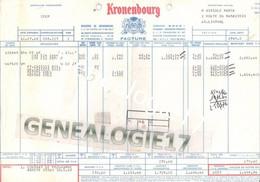 67 0041 STRASBOURG Brasserie De Kronenbourg 68 Rte Oberhausbergen 1969 Dest VIRGILE MARCK - Food