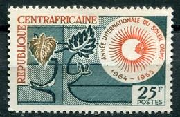 Repubblica Centrafricana (1964) - Anno Internazionale Del Sole Calmo ** - Repubblica Centroafricana
