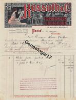 75 18776 PARIS SEINE 1912 Papeterie Imprimerie KOSSUTH Editeur Rue De L Aqueduc A HANNIN - Drukkerij & Papieren