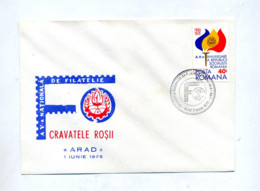 Lettre Cachet Arad Exposition - Marcofilie - EMA (Printer)