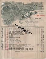 75 08398 PARIS SEINE 1920 Instruments Fournitures Ingenieurs H. MORIN  11 Rue Dulong + BOYELLE Et  PAUL BEAU Rue Va - 1900 – 1949