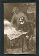 CPA - Joffre Et Napoléon - Elève Digne Du Maître - War 1914-18