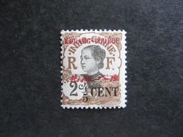 Kouang-Tchéou:  N° 36. Neuf X. - Unused Stamps
