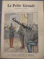 97 0023 LA PETITE GIRONDE 1899 0le Proces DREYFUS à RENNEs Et  Trajet De La Prison Entre Deux Haies De Fantassin Du 4 - 1850 - 1899