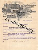 96 2419 PAYS BAS HOLLAND ROTTERDAM 1910 Stoom Distileerderij H. HELLE BREKERS ZONEN Distillerie A EVARISTE VIGNIER - Holanda