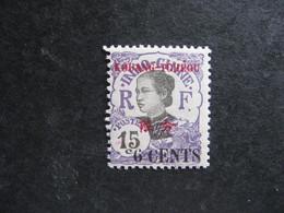 Kouang-Tchéou:  N° 40. Neuf X. - Unused Stamps