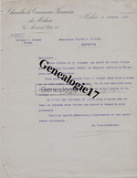 96 1499 0ITALIE ITALIA MILAN 1919 CHAMBRE DE COMERCE FRANCAISE DE MILAN Via Montedi Pieta Litige Giovanni  CRESPI - Italië