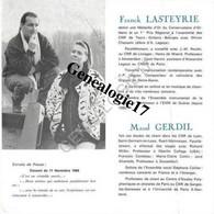 87 0497 LIMOGES HAUTE VIENNE 19.. Une Guitare Une Voix FRANCK LASTEYRIE Et  MAUD GERDIL - DE FALLA BRITTEN MORETTI - Anuncios