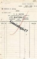 96 1420 CANADA TORONTO And WINNIPEG Ets T. C. EATON  Et PARIS Rue La Fayette à ALLEQ - Canadá