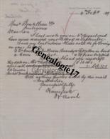 96 1018V AUSTRALIE AUSTRALIA ADELAIDE 1889 Life Insurance HENRI SCOTT Eagle - CORNWALL FIRE Et  MARINE Eagle Chambers - Australia