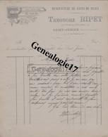 87 0819 SAINT JUNIEN HAUTE VIENNE 189. Manufacture De Gants De Peaux THEODORE RIPET  Fbg Notre Dame à TIXIER - 1800 – 1899