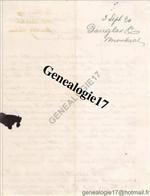 96 0834 CANADA MONTREAL 1890 Lettre De Mr DOUGLAS - Canadá