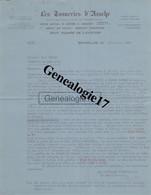 96 0236V BELGIQUE BRUXELLES 1929 Tannerie D ASSCHE  25/27 Square De L Aviation Dest PERRET - Zonder Classificatie