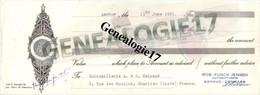 96 0048 DANEMARK AARHUS Ets ROB FUNCK JENSEN Dest MAINAUD 1961 - Non Classificati